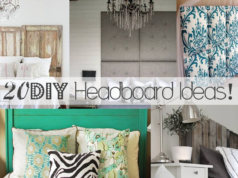 20 DIY Headboard Ideas Little Inspiration