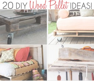 20 diy wood pallet ideas