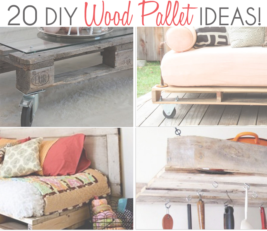 20 DIY Pallet Ideas Little Inspiration