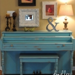 Painted Piano by Doodles and Stiches