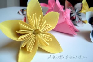 Paper flowers day 2 little inspiration mightylinksfo