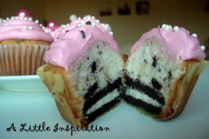 Oreo Crunch Cupcakes Tutorial Little Inspiration