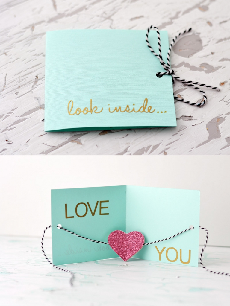 DIY Valentines Day Card Little Inspiration – Handmade Valentines Day Cards