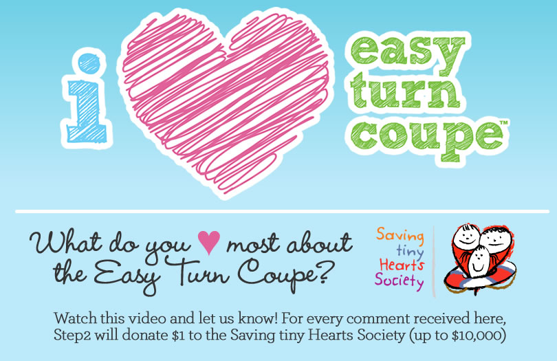 Easy Turn Coupe Giveaway #easyturncoupe