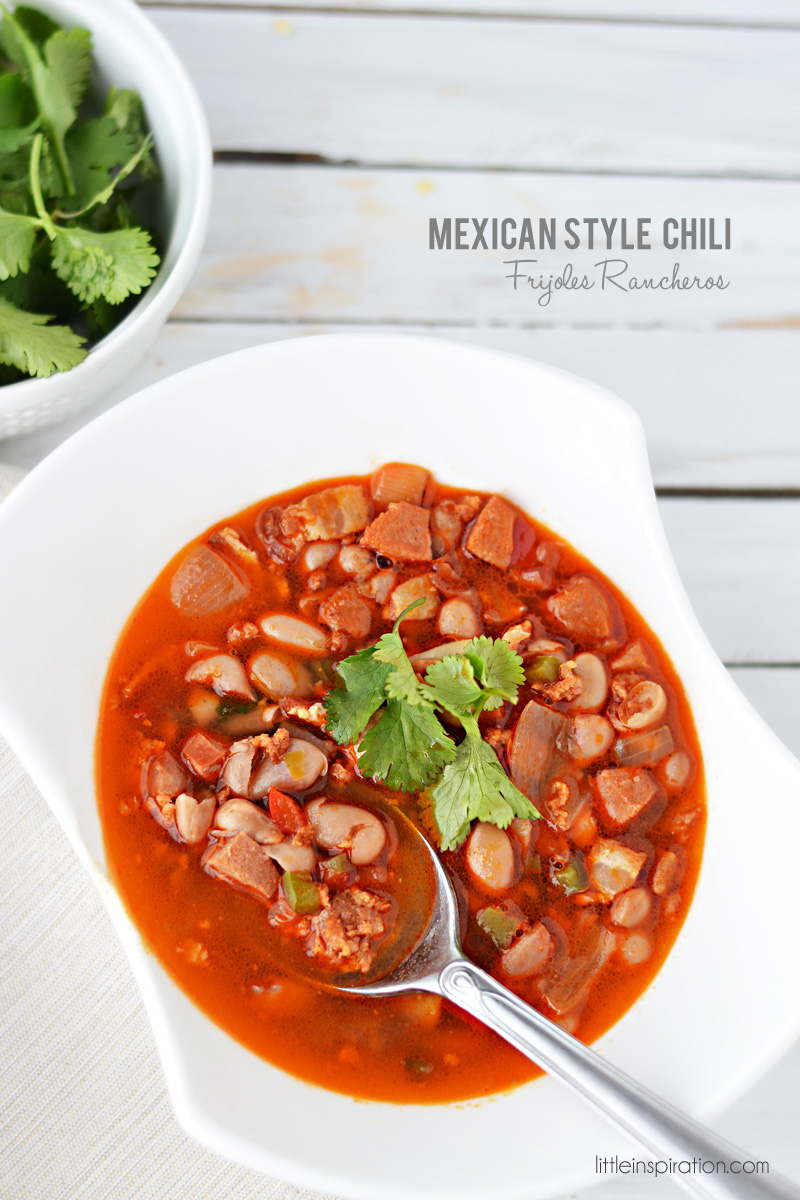 """Mexican Style Chili """"Frijoles Rancheros"""" Recipe » Little ..."""