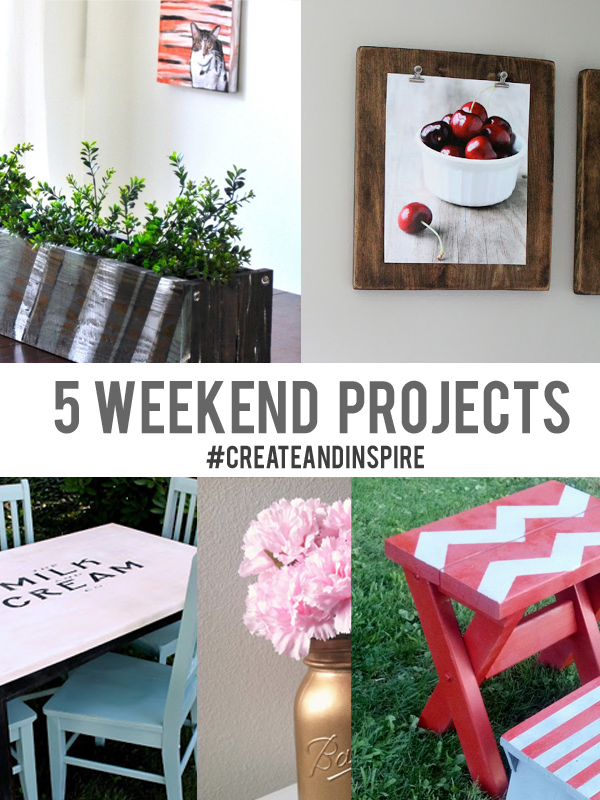 create inspire party 8 9 5 weekend projects little