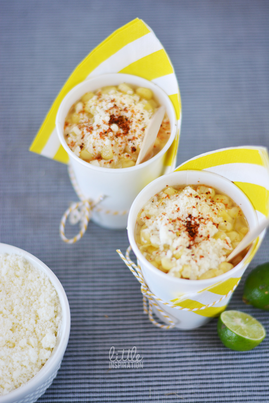 Mexican Street Corn | In a Cup or In the Cob Recipe