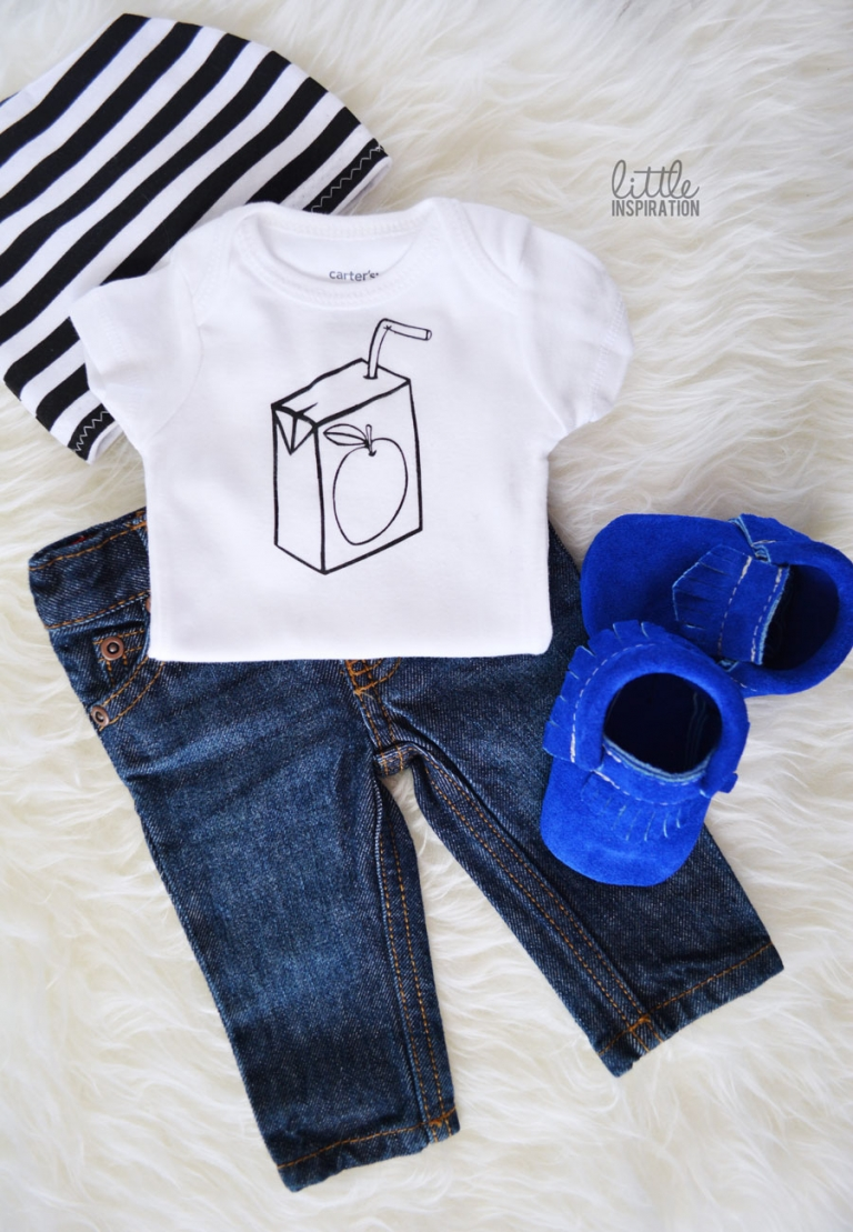 Diy Painted Onesies 187 Little Inspiration