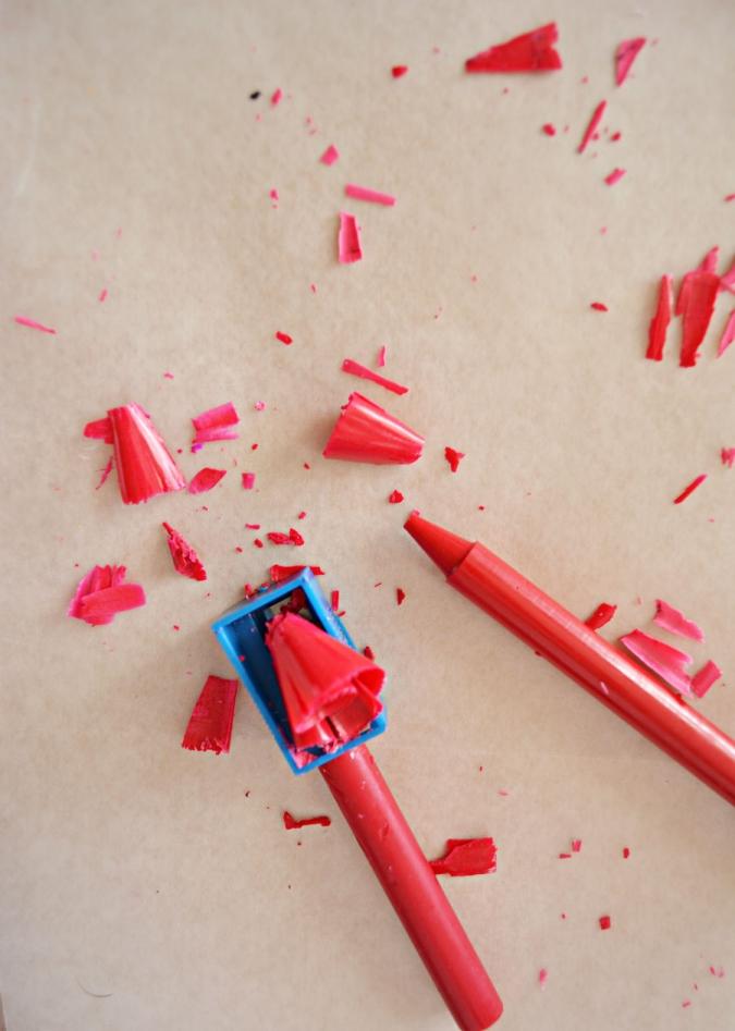 crayon-shavings