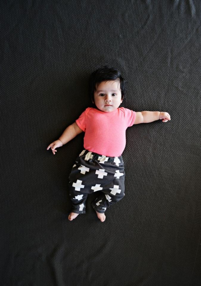 DIY Baby Legging Harem
