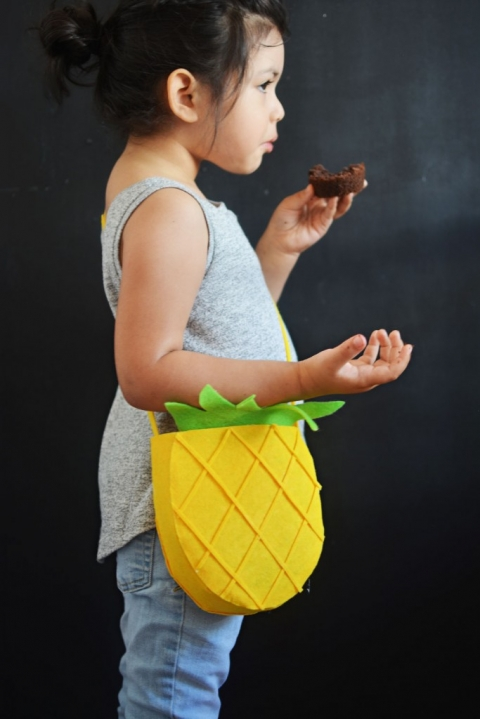 DIY-Ananas-Porte-monnaie
