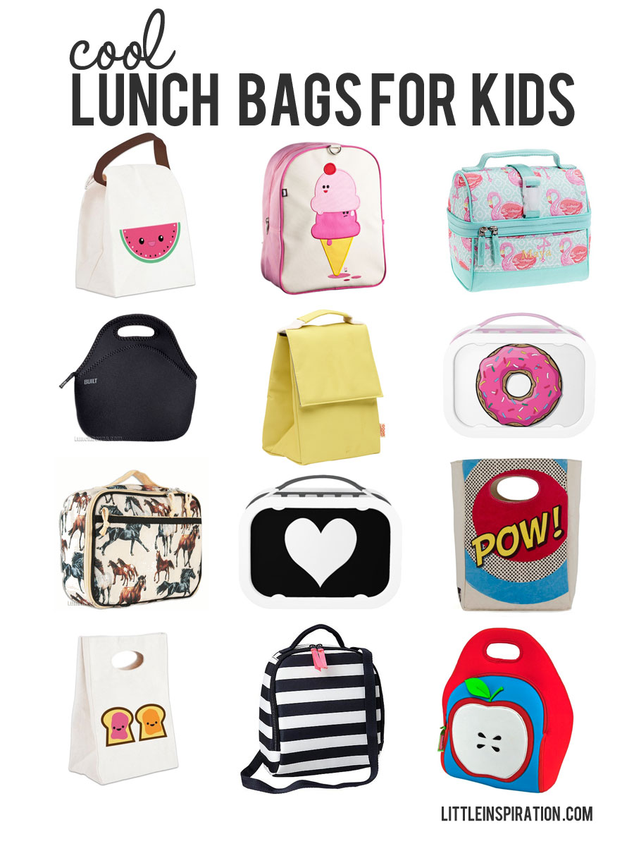 12 cool back to school backpacks lunch bags little inspiration. Black Bedroom Furniture Sets. Home Design Ideas