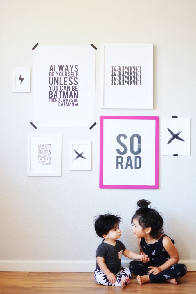 6 free printable posters for kids room little inspiration