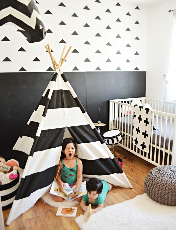 Our nursery playroom design little inspiration Land of nod playroom ideas