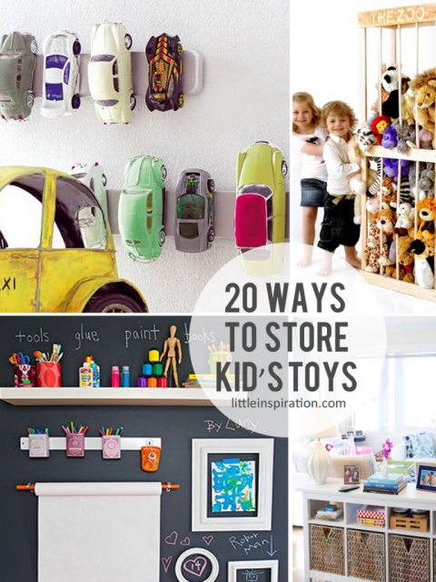 20 Ways To Store Your Kid S Toys Little Inspiration