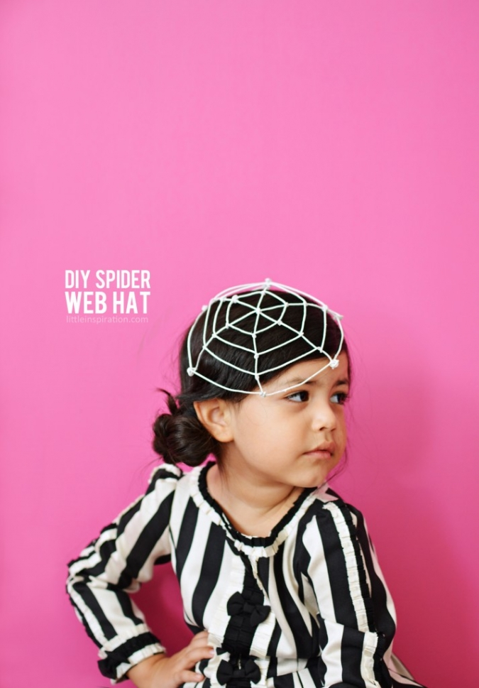 DIY-Spider-Web-Hat-Tutorial