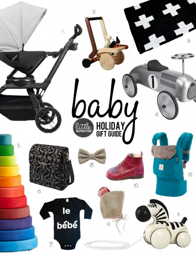 Baby Gifts For Christmas 2014 : Holiday gift guide baby ? little inspiration