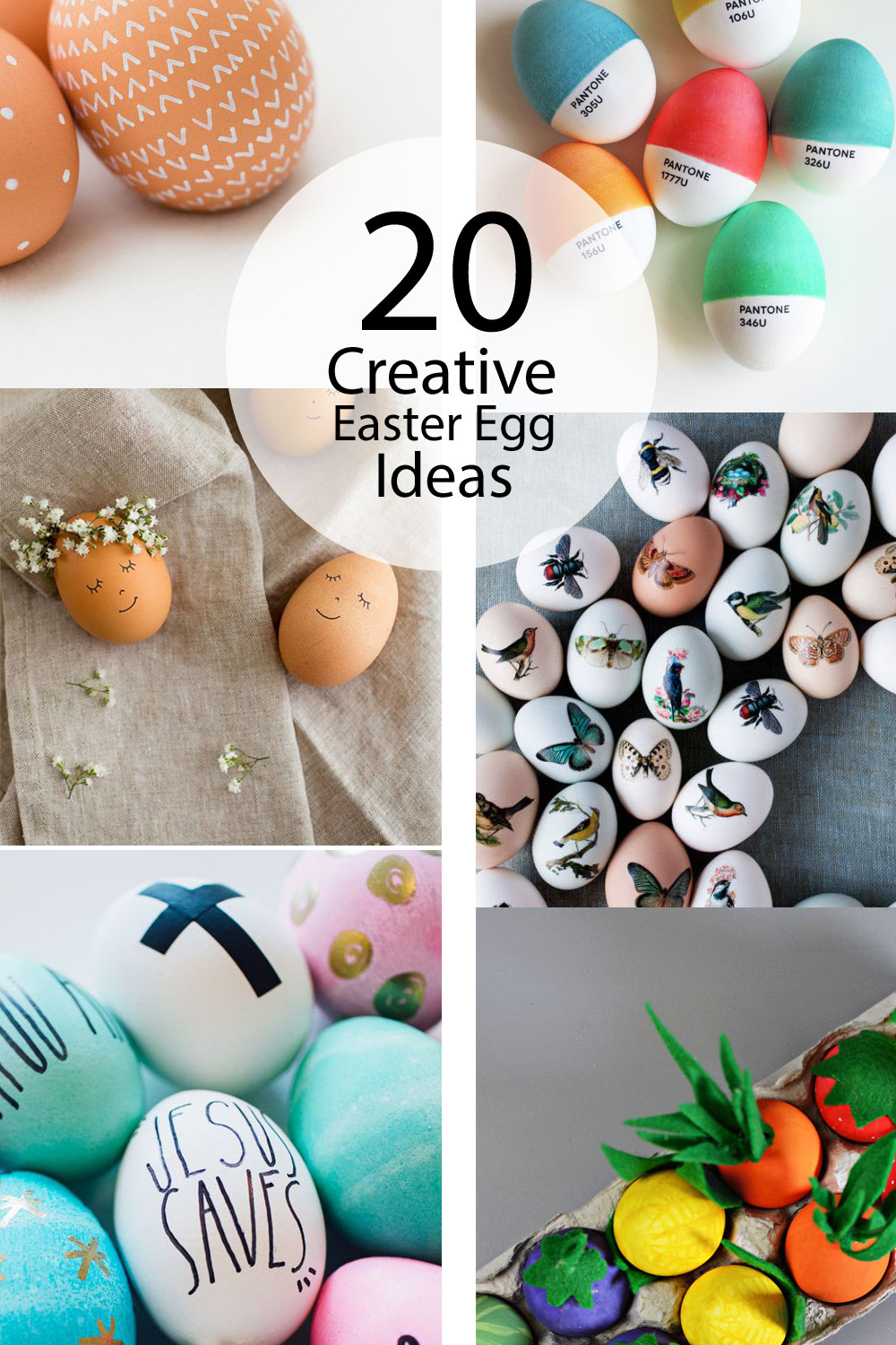 20 creative easter egg ideas little inspiration for Easter egg ideas