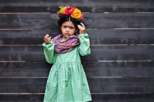DIY Frida Kahlo Headband Inspired Costume