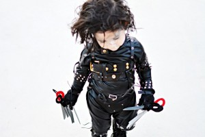 DIY Edward Scissorhands Inspired Costume