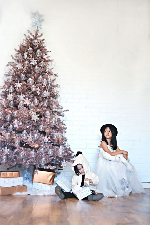 So there you have it, my Dream Christmas Tree - DIY Rose Gold Christmas Tree » Little Inspiration