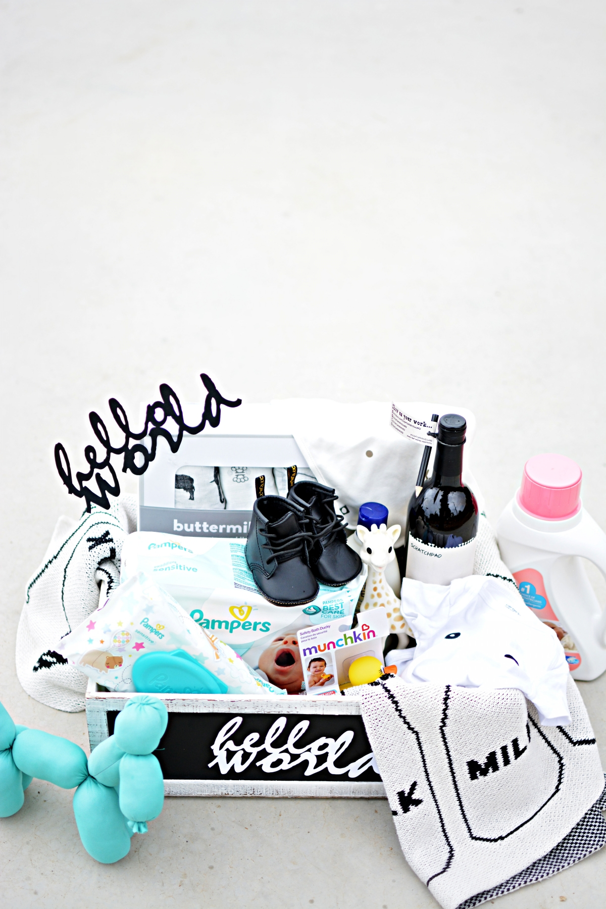 Ultimate Baby Gift Basket Idea
