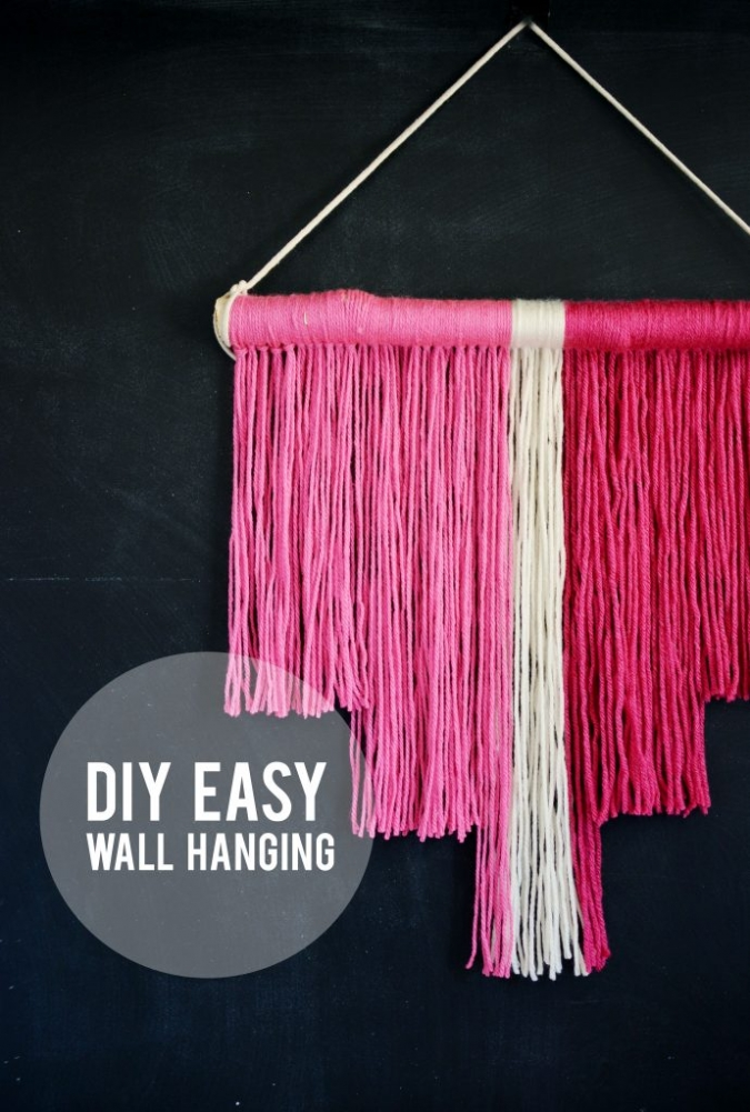 DIY-Easy-Wall-Hanging
