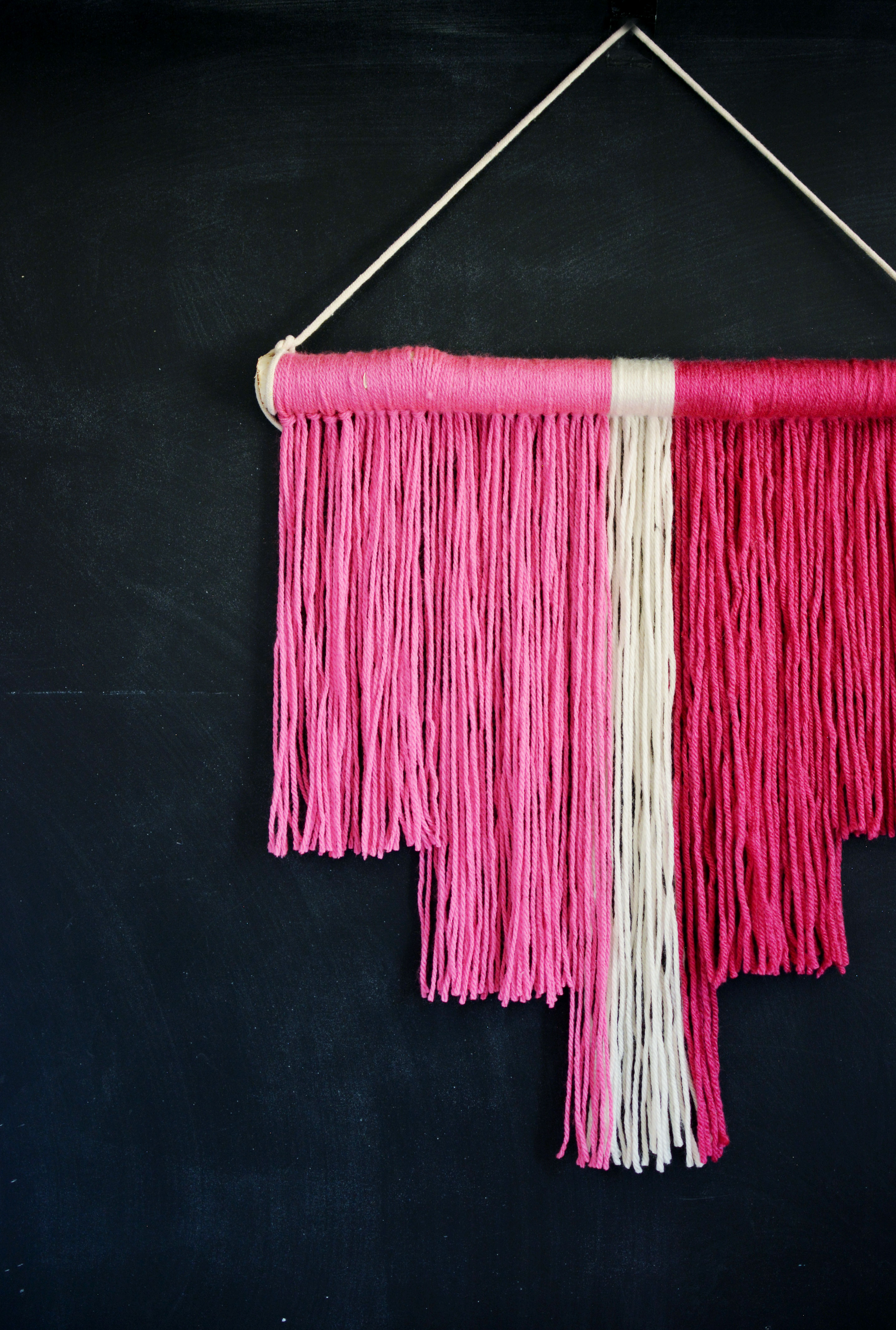 Diy Easy Wall Hanging 187 Little Inspiration