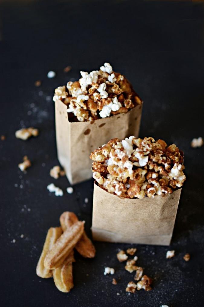 Churro-Popcorn