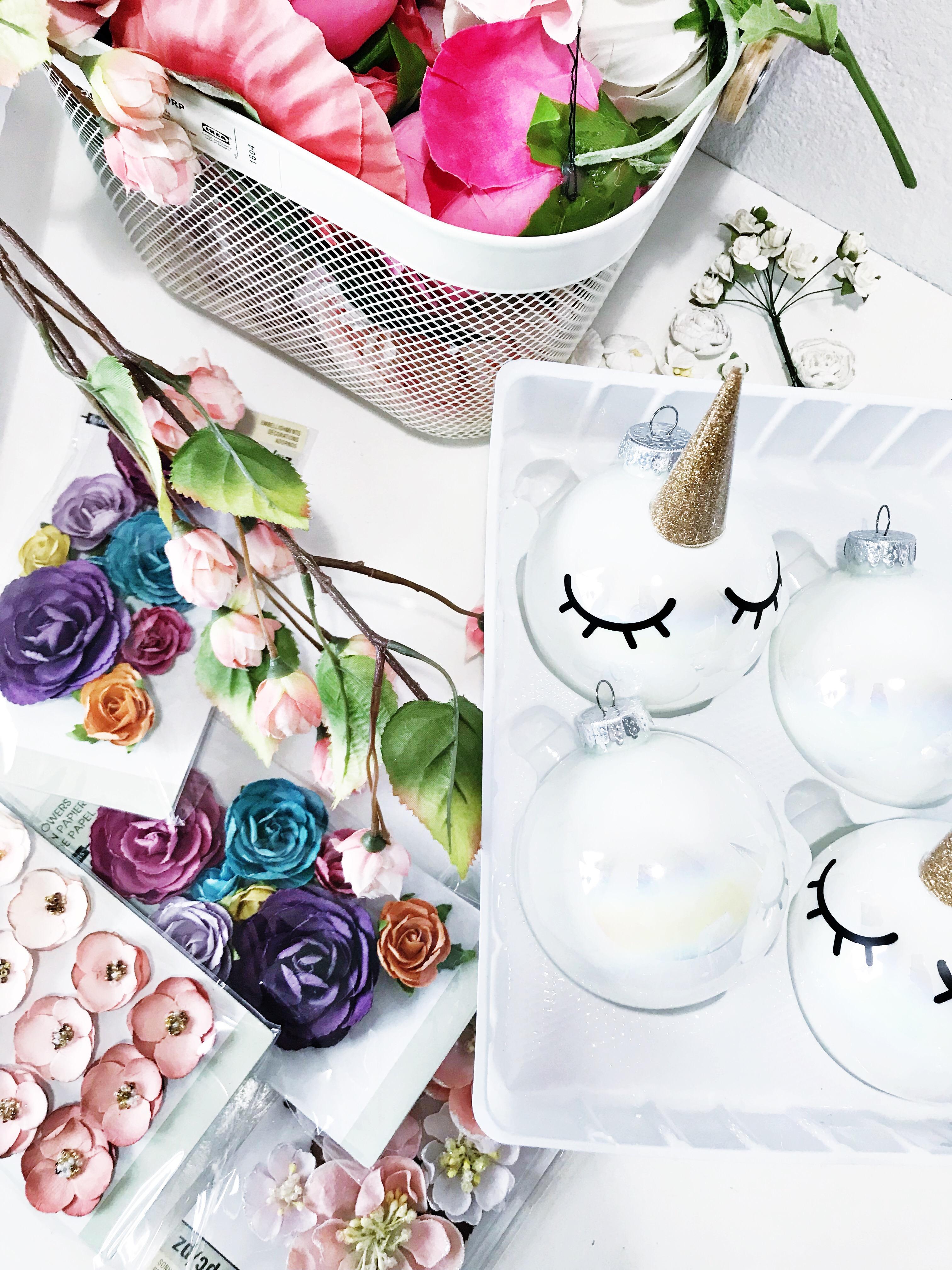 Diy Unicorn Ornaments 187 Little Inspiration