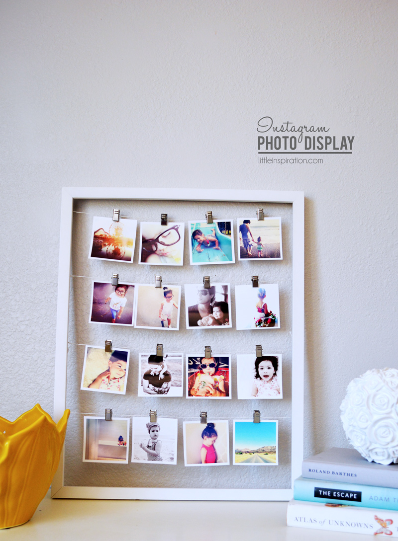 Instagram Project How To Display Your Pictures Little Inspiration
